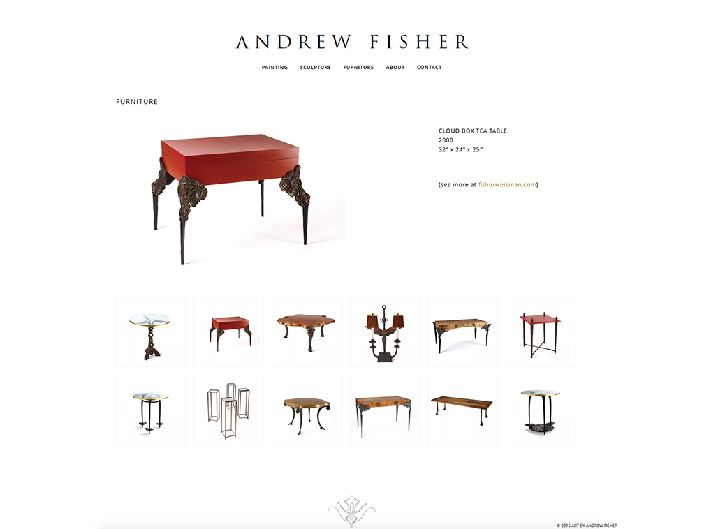 Andrew Fisher Furniture-Cloud-box-tea-table